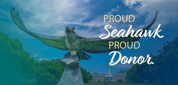 Proud Seahawk. Proud Donor.