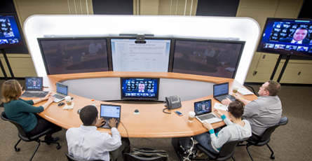 Distance Learning Lab in King Hall