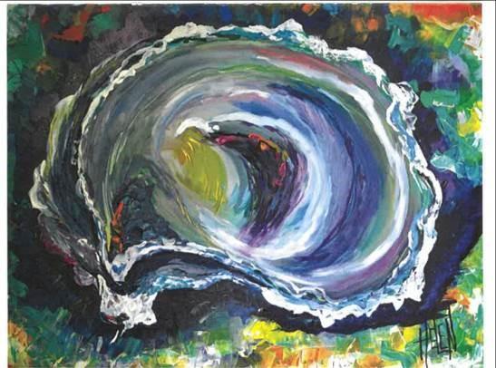 oyster artwork