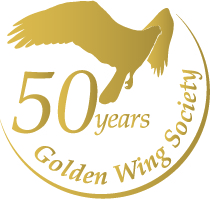 50 years Golden Wing Society