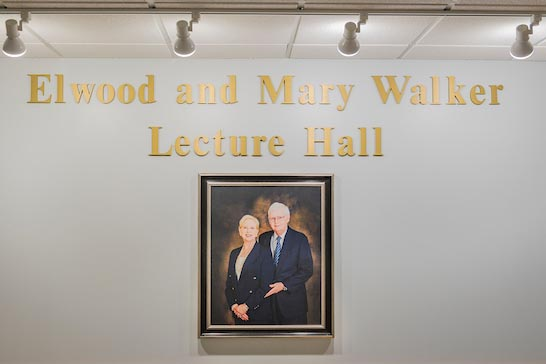 Elwood and Mary Walker Lecture Hall