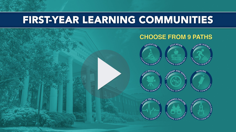 UNCW first-year learning communities