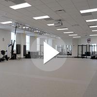 Movement Analysis Lab in UNCW's Veterans Hall