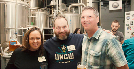alumni at Clouds Brewery