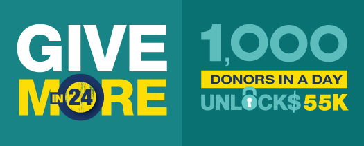 1,000 Donors in a Day Unlocks $55K