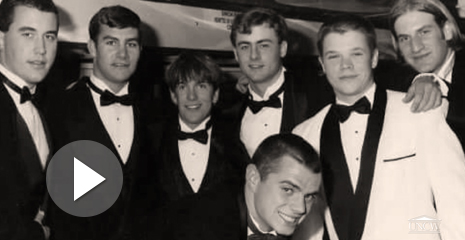 Jason Brett and classmates during their school days