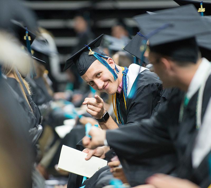 Seniors graduating